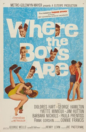 Where the Boys Are - Movie Poster (thumbnail)