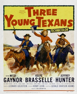 Three Young Texans - Movie Poster (thumbnail)