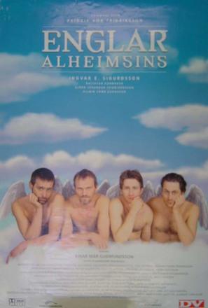 Englar alheimsins - Icelandic Movie Poster (thumbnail)