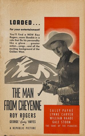 Man from Cheyenne - Movie Poster (thumbnail)