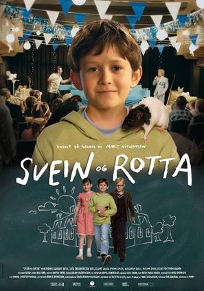 Svein og rotta - Norwegian Movie Poster (thumbnail)