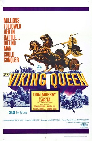 The Viking Queen - British Movie Poster (thumbnail)