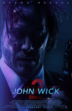 John Wick: Chapter Two - Theatrical movie poster (thumbnail)