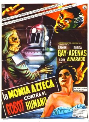 Momia azteca contra el robot humano, La - Spanish Movie Poster (thumbnail)