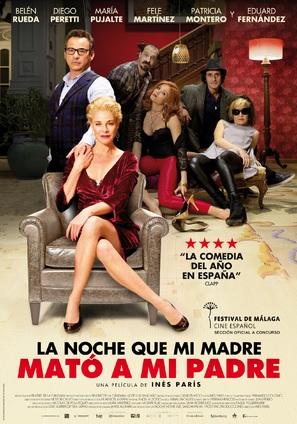 La noche que mi madre mató a mi padre - Spanish Movie Poster (thumbnail)
