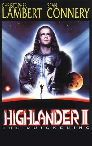 Highlander 2 - VHS movie cover (thumbnail)