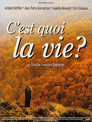 C'est quoi la vie? - French Movie Poster (thumbnail)