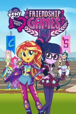 My Little Pony: Equestria Girls - Friendship Games - Movie Cover (thumbnail)
