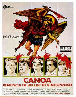 Canoa - Spanish Movie Poster (thumbnail)