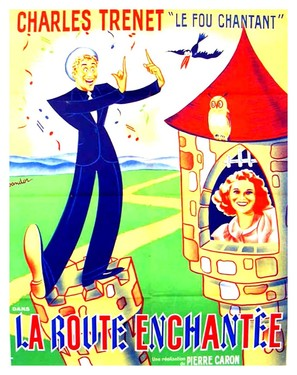 La route enchantée - French Movie Poster (thumbnail)