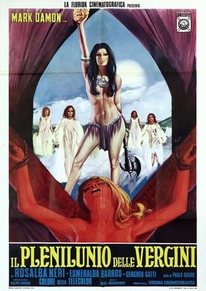 Il plenilunio delle vergini - Italian Movie Poster (thumbnail)