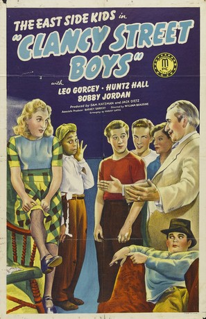 Clancy Street Boys - Movie Poster (thumbnail)
