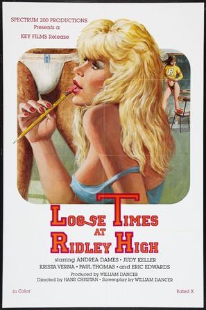 Loose Times at Ridley High - Movie Poster (thumbnail)