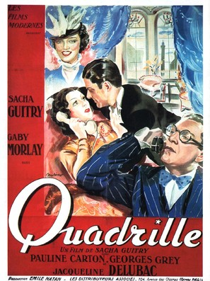 Quadrille - French Movie Poster (thumbnail)