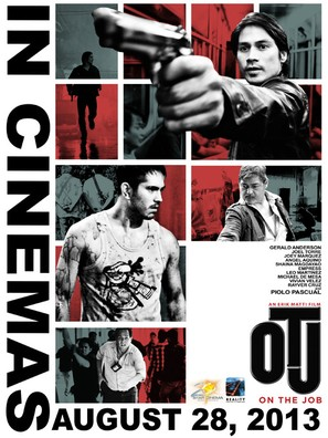 On the Job - Philippine Movie Poster (thumbnail)
