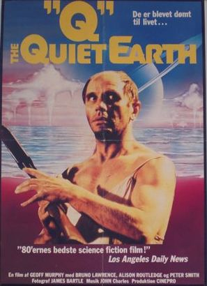 The Quiet Earth - Danish Movie Poster (thumbnail)
