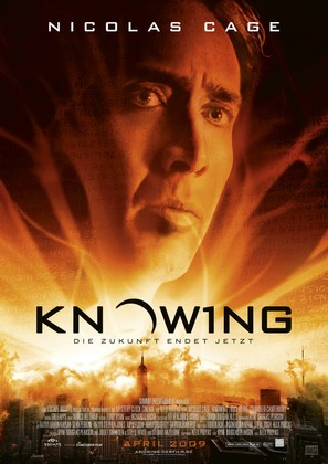 Knowing - German Movie Poster (thumbnail)