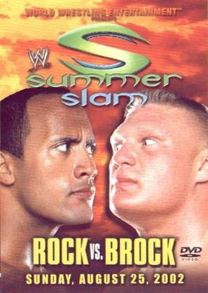 WWE Summerslam - DVD movie cover (thumbnail)