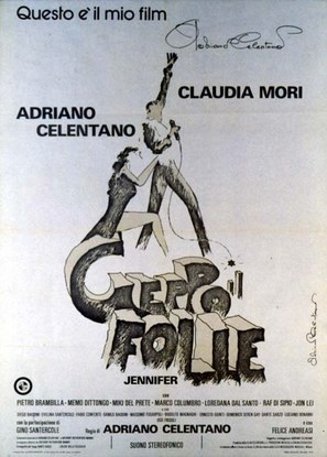 Geppo il folle - Italian Movie Poster (thumbnail)