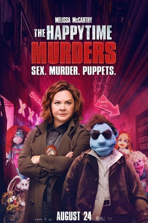 The Happytime Murders - Theatrical movie poster (thumbnail)