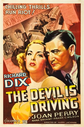 The Devil Is Driving - Movie Poster (thumbnail)