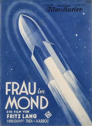 Frau im Mond - German poster (thumbnail)