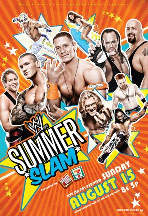 WWE Summerslam - Movie Poster (thumbnail)