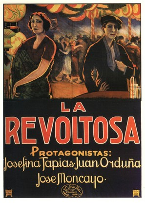 La revoltosa - Spanish Movie Poster (thumbnail)