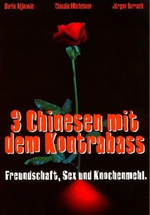 3 Chinesen mit dem Kontrabass - German poster (thumbnail)