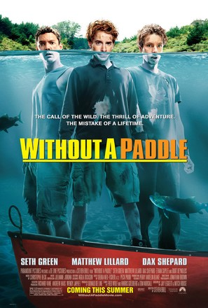 Without A Paddle - Movie Poster (thumbnail)