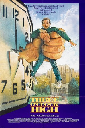 Three O'Clock High - Movie Poster (thumbnail)