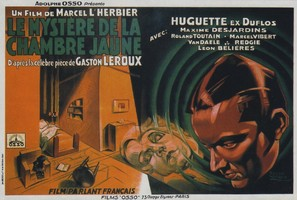 Le mystère de la chambre jaune - French Movie Poster (thumbnail)