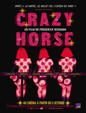 Crazy Horse - French Movie Poster (thumbnail)