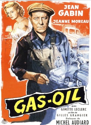 Gas-Oil - French Movie Poster (thumbnail)