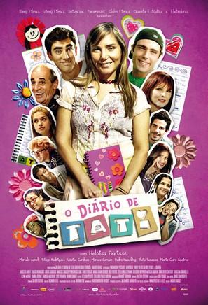 O Diário de Tati - Brazilian Movie Poster (thumbnail)