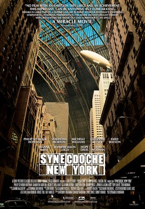Synecdoche, New York - Theatrical movie poster (thumbnail)