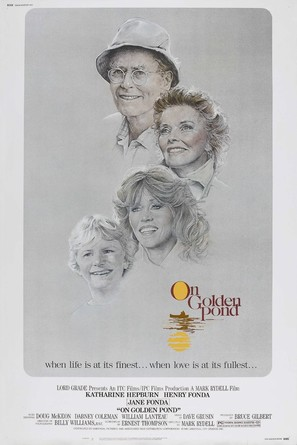 On Golden Pond - Movie Poster (thumbnail)