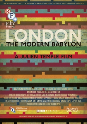 London - The Modern Babylon - British Movie Poster (thumbnail)