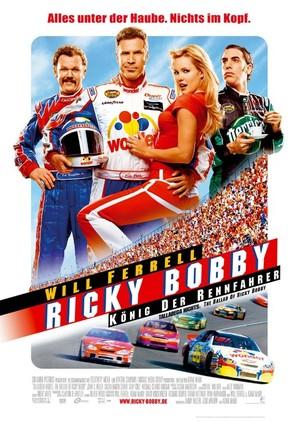 Talladega Nights: The Ballad of Ricky Bobby - German Movie Poster (thumbnail)