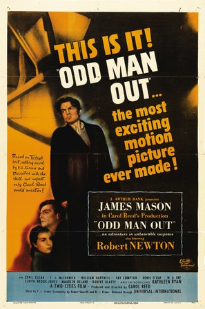 Odd Man Out - Movie Poster (thumbnail)