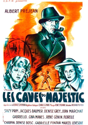 Les caves du Majestic - French Movie Poster (thumbnail)