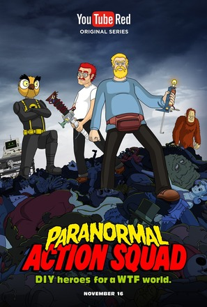"""""""Paranormal Action Squad"""" - Movie Poster (thumbnail)"""