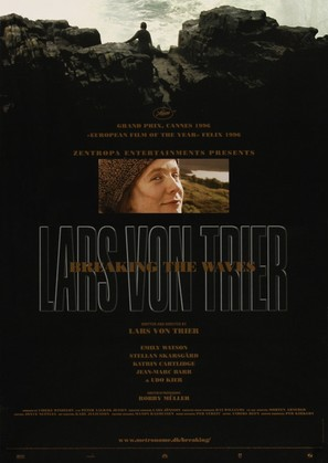 Breaking the Waves - Danish Movie Poster (thumbnail)