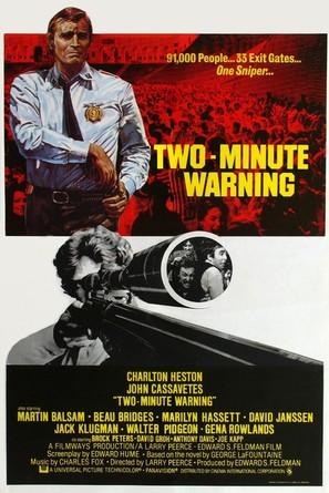 Two-Minute Warning - British Movie Poster (thumbnail)