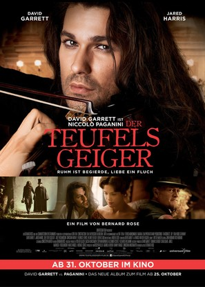 The Devil's Violinist - German Movie Poster (thumbnail)