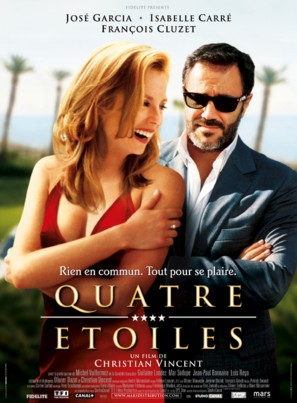 Quatre étoiles - French Movie Poster (thumbnail)