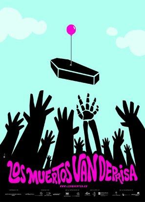 Muertos van deprisa, Los - Spanish Movie Poster (thumbnail)