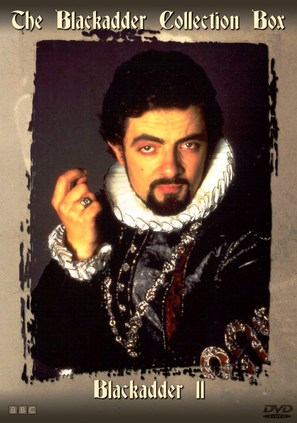 """Blackadder II"" - DVD movie cover (thumbnail)"