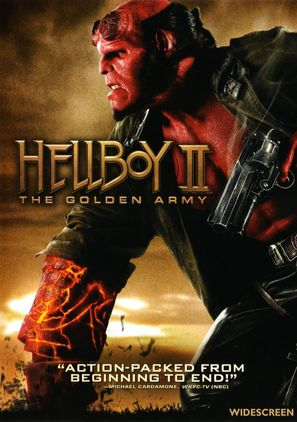 Hellboy II: The Golden Army - DVD cover (thumbnail)