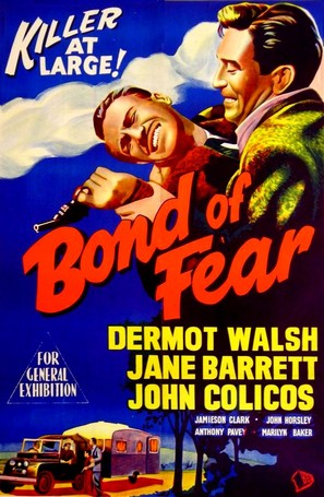 Bond of Fear - British Movie Poster (thumbnail)